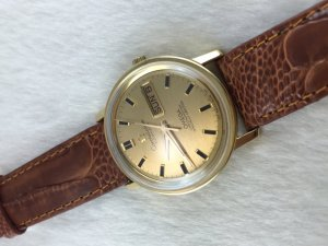 Omega Constellation Chronometer Day-Date 250 Automatic solid 18k gold Case & Dial Cal751