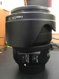 Len Canon 15-85 tặng fifter uv bw