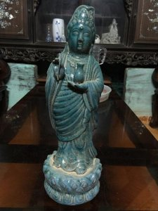Phật bà men lục GL