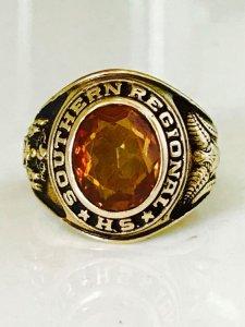 Nhẩn mỹ 1968 vàng hổ phách tuyệt đẹp