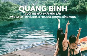 Review chi tiết đi cắm trại tại Quảng Bình – Quê Hương của KingKong