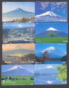 Bán BST 34 thẻ điện thoại hình núi Phú Sĩ