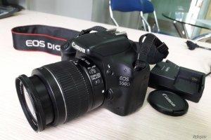 Canon 550D + Lens 18-55 is II, chính hãng