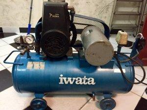Máy nén khí Iwata japan 2hp