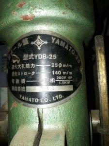 Khoan bàn YAMATO cao 1.4M hành trình bàn 600mm