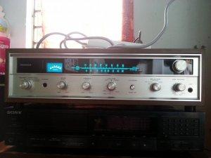 Amply pioneer E-1000a zin good