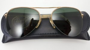 RAY BAN 1/30 10K G.O 56-18 MADE IN GERMANY
