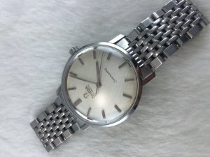 Omega Seamaster Automatic stainless steel Case & Bracelet Cal552