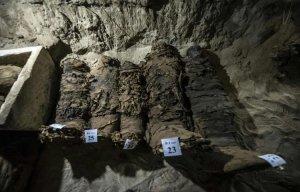 Ngôi mộ cổ Ai Cập 2300 năm tuổi chứa rất nhiều xác ướp cấp cao