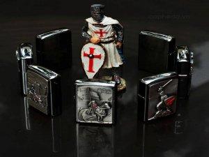 Set Zippo Knights Templar