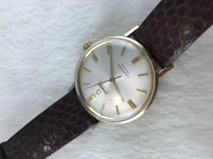 Omega Seamaster Deville Automatic 14k gold filled Cal550 dial's White Pearl