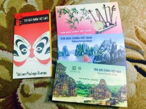 Giao lưu 4 bộ tem Việt Nam
