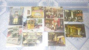 Bộ post card 10 tấm trong di hòa viên.
