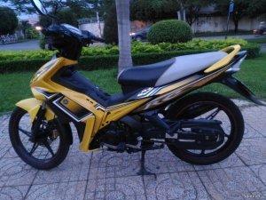EXciter 2010 vàng đen
