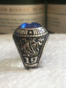 Giao lưu nhẫn mỹ hợp kim tuyệt đẹp.Nhẫn mới cứng.