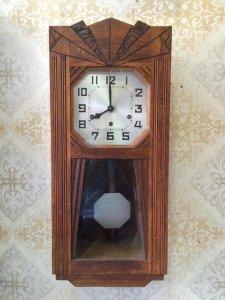 Đồng hồ treo tường Junhan 8 gong sx Đức 1960