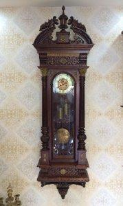 Đồng hồ treo tường GB ( Gustav Becker ) 2 tạ cước sx Đức 1910