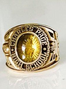 Nhẩn mỹ 1960 vàng tia 3D theo hình tuyệt đẹp