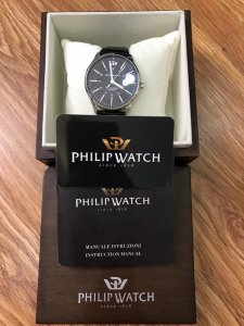 Phillip Watch swiss made. Nguyên hộp sổ thẻ limted 67/100