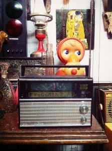 Đài Vef 206 - Âm thanh đã cũ