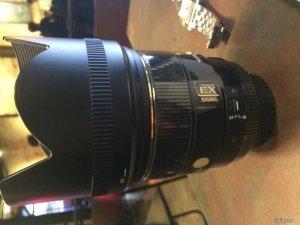 Cần bán Lens Sigma 85 F1.4 EX DG