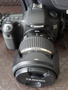 Canon 60D + Tamron 17-50 VC