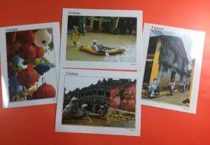 Thanh lý 16 postcard Di sản văn hóa thế giới Tràng An-Hội An
