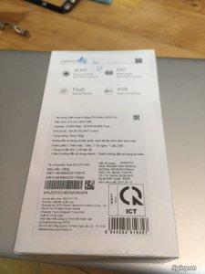 Bán 1 điện thoại Oppo F3 chưa khui seal giá tốt