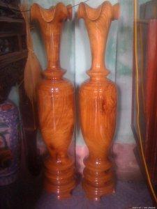 Bán đôi lục bình gỗ đinh hương