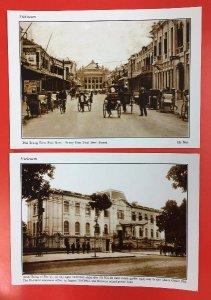 Thanh lý 48 Postcard Việt Nam xưa và nay, giá 220k.