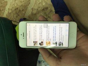 Bán iPhone 5 16g màu trắng