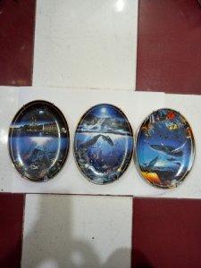 Bộ 3 Dĩa Hột Xoài LAHAINA DREAMS - Đồ Xưa - hàng xách tay từ Mỹ