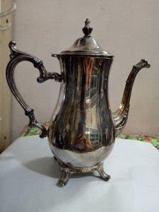 Ấm trà SILVERPLATE WM ROGERS -Đồ xưa -