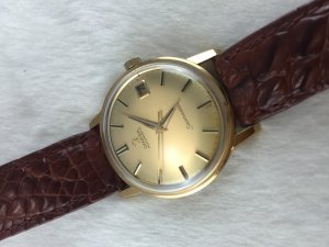 Omega Seamaster Automatic solid 18k gold Case & Dial Cal565