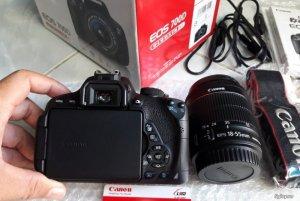 Canon 700D, lens 18-55STM Fullbox, BH chính hãng 1/2018
