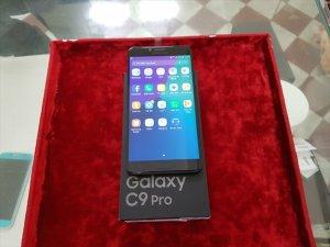 Samsung Galaxy C9 Pro hàng Xt Black vs Gold hình thức đẹp 99%