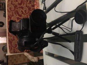 Máy quay phim Canon decor