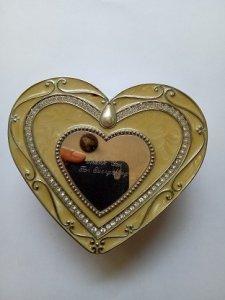 Hộp Đựng Trang Sức hình Trái Tim- Đồ xưa - hàng xách tay từ Mỹ