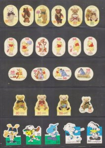 Bán 100 tem Nhật như hình.