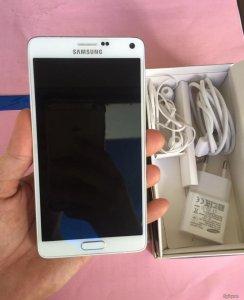 Bán Samsung Galaxy Note 4 trắng, Full box, chính hãng bảo hành FPT.