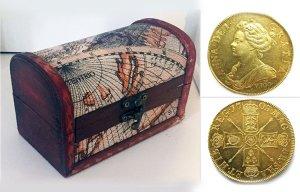 Vô tình thành đại gia vì nhặt được đồng xu 7,4 tỉ đồng từ năm 1702