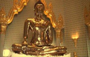 Phát hiện tượng Phật bằng vàng 5,5 tấn tại Thái Lan
