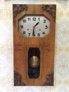 Đồng hồ Junghans 2 bài nhạc 10 gong sx Đức 1940