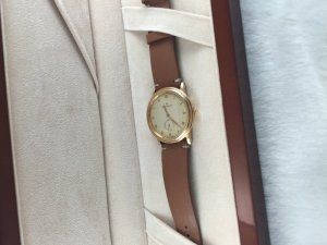 Blancpain Villeret Date Automatic solid 18k Pink gold Rotor solid 21k gold