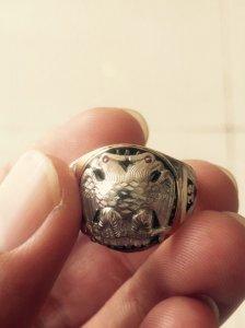 Nhẫn Masonic 10k.