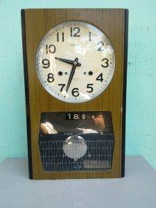 Đồng hồ treo tường Seiko MS 12 - Made in Japan, nguyên rin
