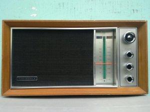 Radio Panasonic , FM -AM , 2-BAND ; Made in Japan (Điện 110v) ( Mã số 2)