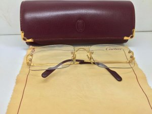 Kính Cartier ba mảnh paris gold filled Serial 1573843 FRANCE cây {số 176}