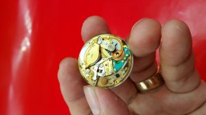 Hamilton vỏ bọc vàng toàn thân electronic xưa chính hãng