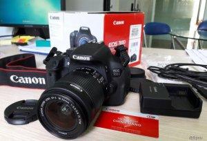 Canon 700D, Lens 18-55 STM, FullBox 98%, BH chính hãng 2018